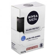 Loção Pós Barba Nivea Men Silver Protect 100ml