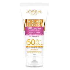 Protetor Solar Loreal Expertise Facial FPS 50 BB Cream 50g