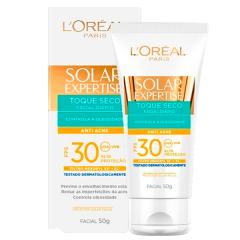 Protetor Solar Loreal Expertise Facial FPS 30 Toque Seco 50g