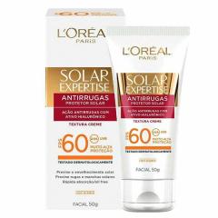 Protetor Solar Loreal Expertise Facial FPS 60 Antirrugas 50g