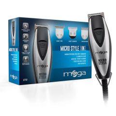 Máquina de Corte e Acabamento Profissional Mega Micro Style 3in1 Pro