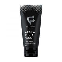 Máscara de Limpeza Facial Fashion Argila Preta 30g