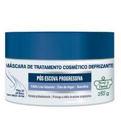 Máscara de Tratamento Defrizante Flores & Vegetais Pós Escova Progressiva 250g