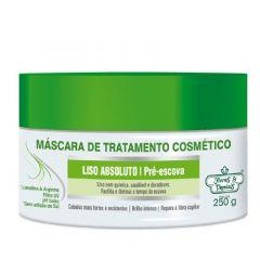 Máscara de Tratamento Flores & Vegetais Liso Absoluto Pré-Escova 250g