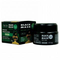 Máscara Facial Black Mask Matto Verde Xô Cravos 50g