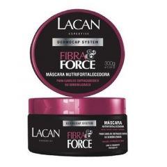 Máscara Nutrifortalecedora Lacan Dermocap System Fibra&Force 300g