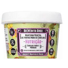 Manteiga Vegetal Capilar Nutrição Lola Be(M)dita Ghee Abacaxi e Manteiga de Bacuri 100g