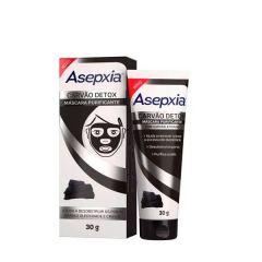 Mascara Peel Off Facial Asepxia Carvão Detox 30g