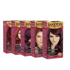 Maxton Kit Tintura Vermelhos  - Cores