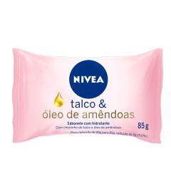 Sabonete Nivea Talco e Amêndoas 85g
