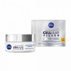 Nivea Cellular Filler + Firmeza Antissinais Creme Facial Dia FPS 30 52g
