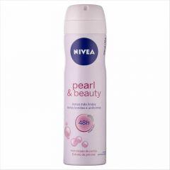 Nivea desodorante aerosol fem pearl beauty 150ml