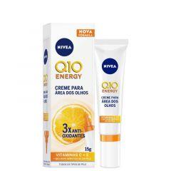 Nivea Q10 Energy Creme para Área dos Olhos 15g 3x Antioxidantes