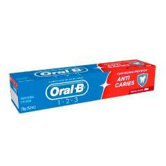 Creme Dental Oral-B 123 Anticaries 70g