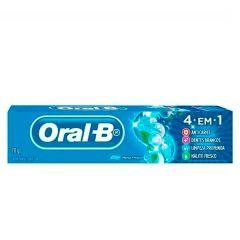 Creme Dental Oral-B 4 em 1 70g
