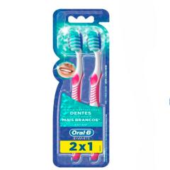 Escova Dental Oral-B 3D White Radiant 2unid
