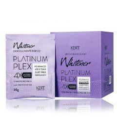 Pó Descolorante Rápido Kert Whitener Platinum Plex 01 Sache de 50g