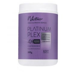 Pó Descolorante Rápido Kert Whitener Platinum Plex 300g
