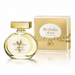 Perfume Her Golden Secret Antonio Bandeiras Eau de Toilette 80ml