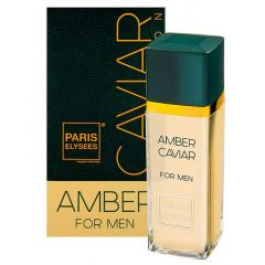 Perfume Paris Elysees Caviar Amber For Men 100ml