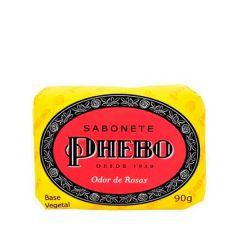 Sabonete Barra Phebo Odor de Rosas 90g