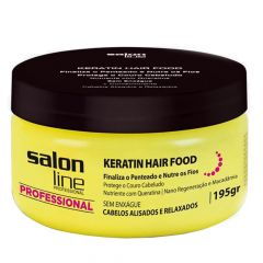 Pomada Profissional Keratin Hair Food Nutrition Salon Line 195gr