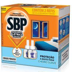 Repelente Elétrico Liquido REFIL SBP Cheiro Suave 2 Refis de 35ml cada