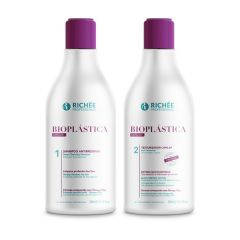 Richée Kit Bioplástica Capilar Shampoo e Texturizador 2x300ml