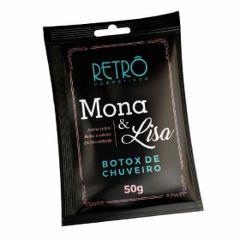Sache Botox de Chuveiro Retrô Cosmeticos Mona&Lisa 50g
