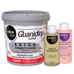 Salon Line Alisante Guanidina Extra Conditioning Regular 218g