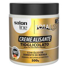 Salon Line Creme  alisante  manga Forte Tioglicolato 500g