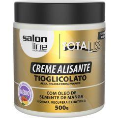 Salon Line Creme  alisante  manga medio Tioglicolato 500g