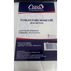 Santa clara toalha para manicure descartavel 20 unidades