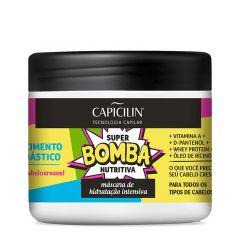 Capicilim Super Bomba Nutritiva Máscara de Hidratação 350g Crescimento Bombástica