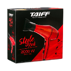 Taiff Style Red Secador 2000w 220v