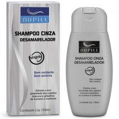 Shampoo Cinza Desamarelador Nupill 120ml