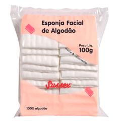 Algodão Esponja Limpeza Facial  Sussex 100g