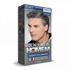 Tonalizante Capilar Biocolor Homem 5 minutos Grisalhos