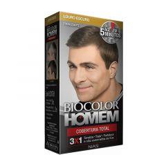 Tonalizante Capilar Biocolor Homem 5 minutos Louro Escuro