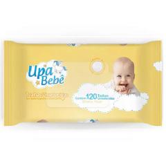 Lenço Toalha Umedecida Upa Bebe 120 unid