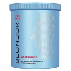 Wella pó descolorante blondor multi blonde 300g