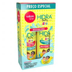 Salon Line Kit Shampoo e Condicionador Multifuncional Hidra Multy Kids 2x300ml